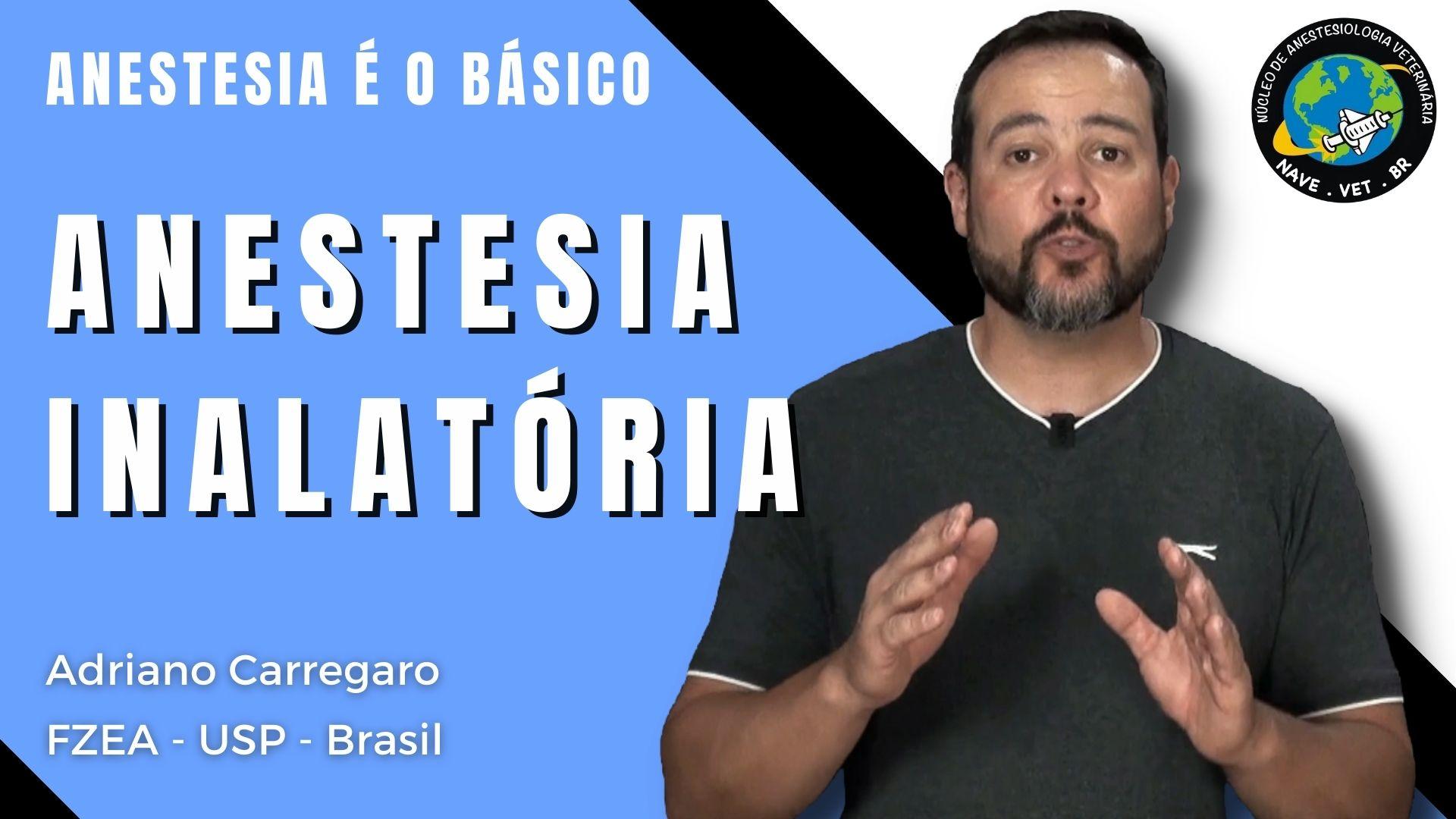 Anestesia Inalatória – Anestesia é o Básico #16